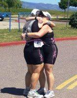 jan sara hug triathlon
