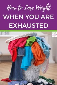 How can I lose weight when I am exhausted? #weight #diet #fitness #health