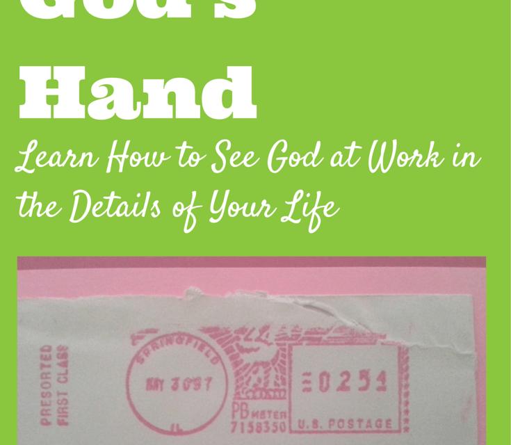 Noticing God's Hand