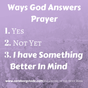 prayer answers
