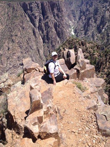 hiking, Black Canyon