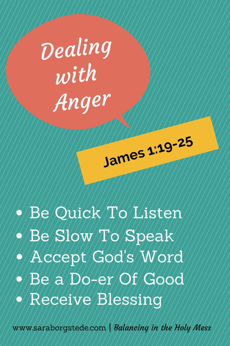 Five Steps to Follow When You are Angry: Messy Life? Holy Clean-Up! Podcast Series #3