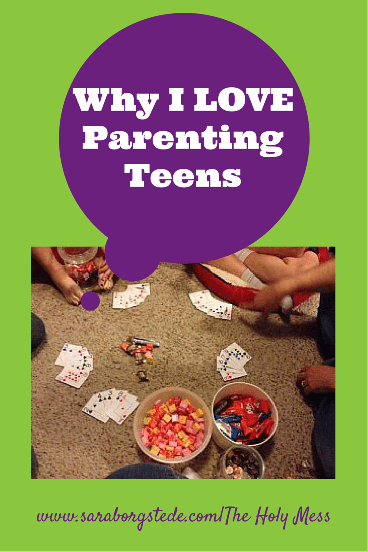 Random Reasons Why I Love Parenting Teenagers