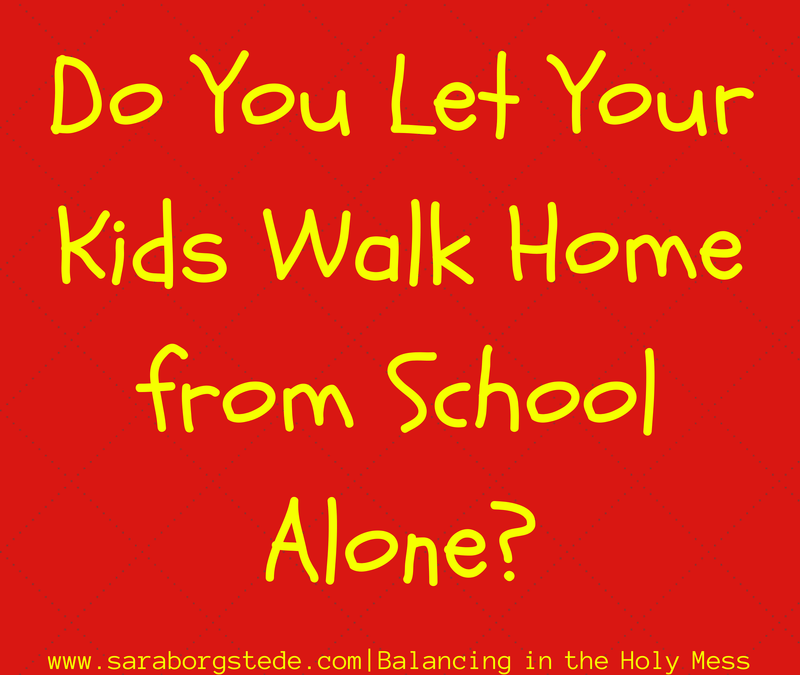Answers: Should Kids Walk Home from School Alone?