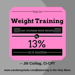 weight lift jill