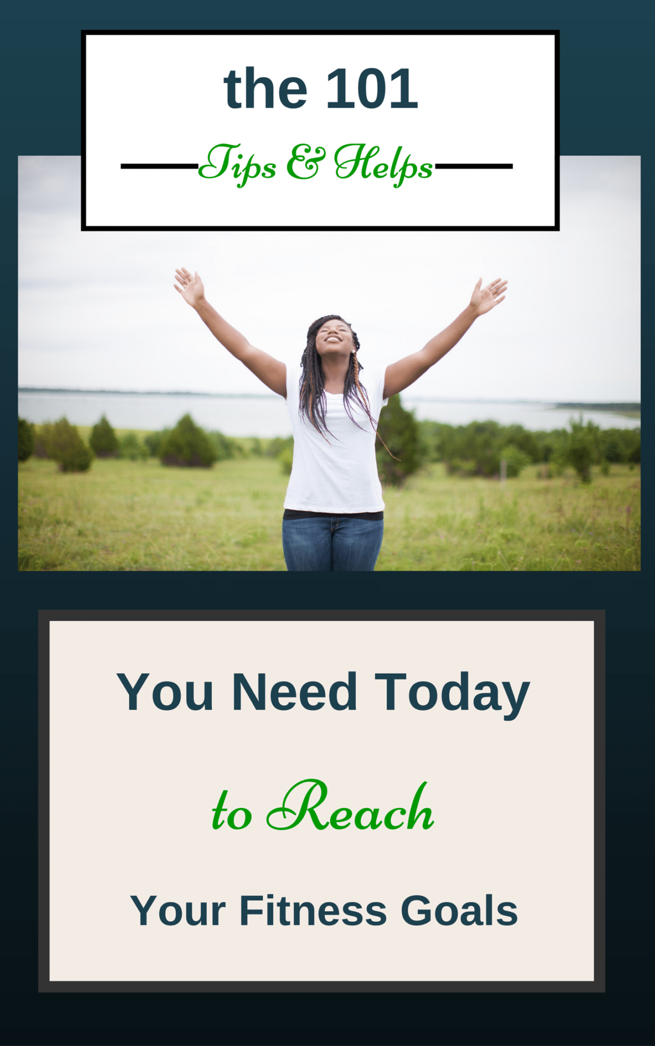 The 101 Tips & Helps You Need Today to Reach Your Fitness Goals