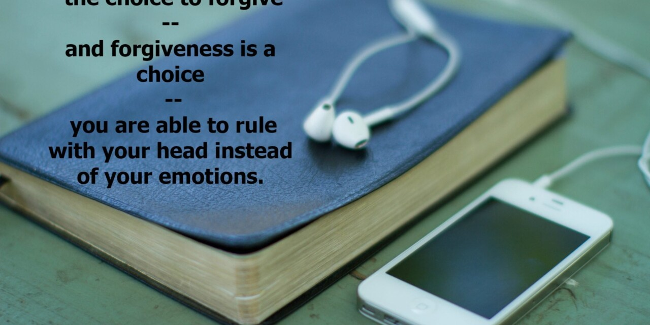 A Conversation About Forgiveness