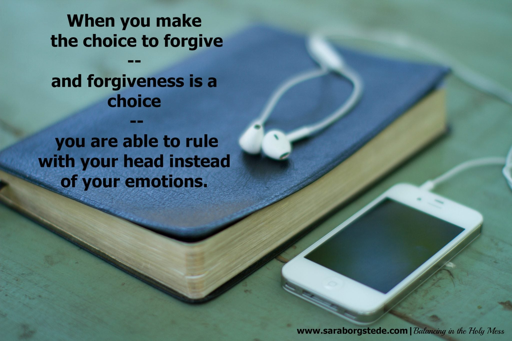 A Conversation About Forgiveness
