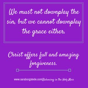 downplay sin