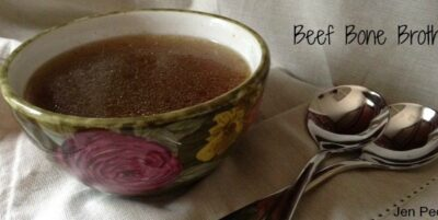 Beef Bone Broth is healthy and delicious.