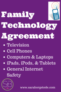 Family Technology Agreement