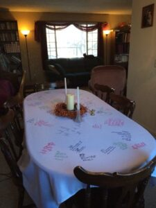 Thanksgiving Tablecloth