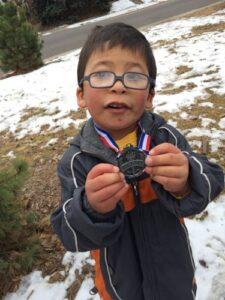 Zack 5K medal