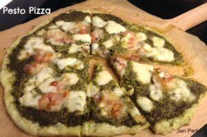 pesto piza