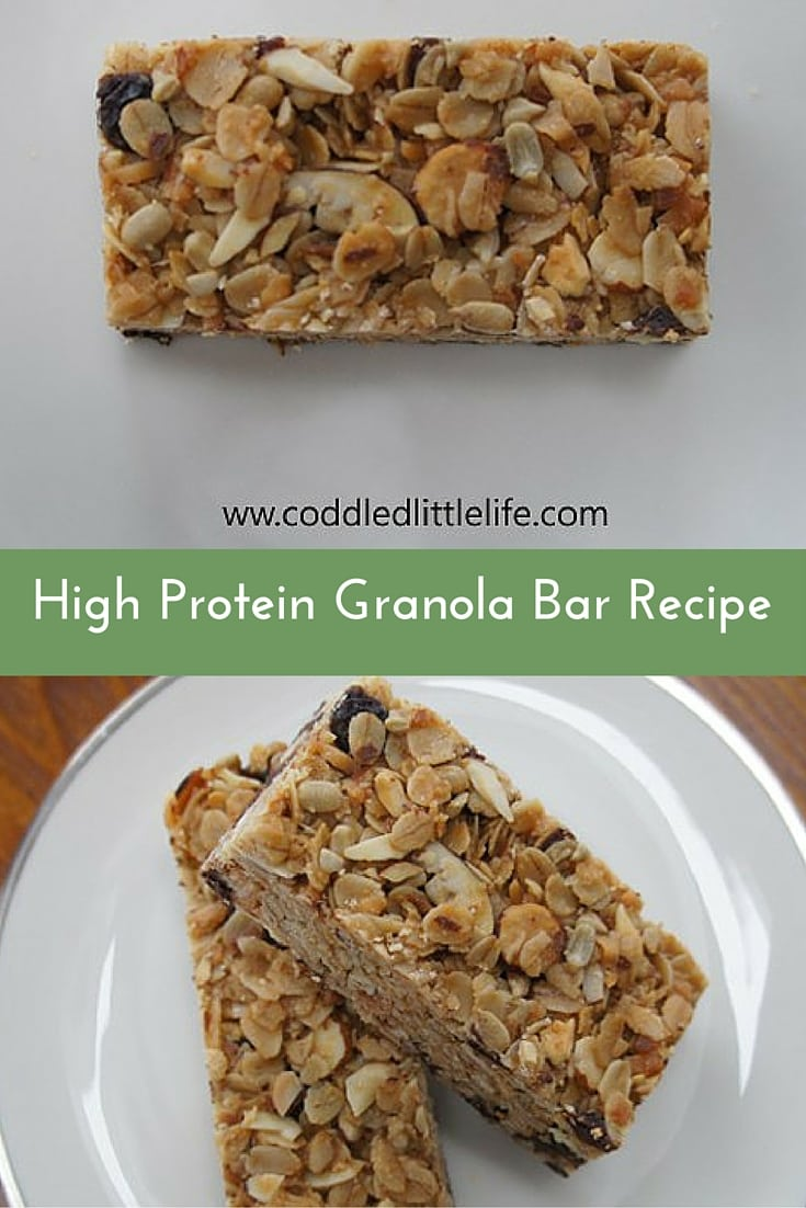 High Protein Granola Bar Recipe|The Holy Mess