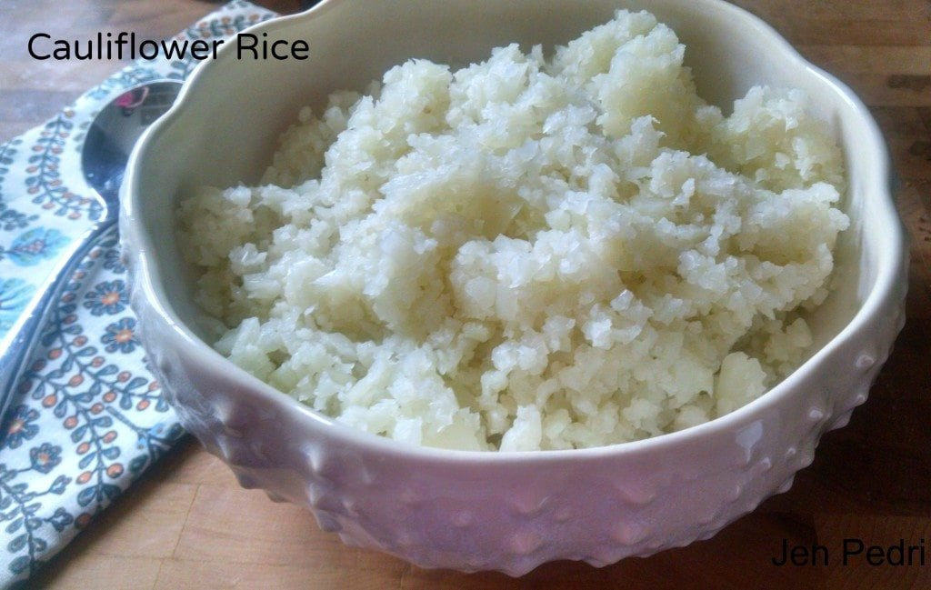 Cauliflower Rice|The Holy Mess