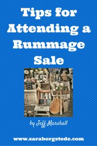 Tips for Attending a Rummage Sale
