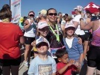 finish line with kids