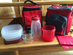 Zack's red gear