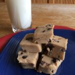 Raw Cookie Dough Squares