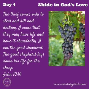Abide in God's Love Day 4