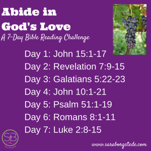 Abide in God's Love readings