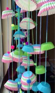 DIY Cupcake Paper Garland