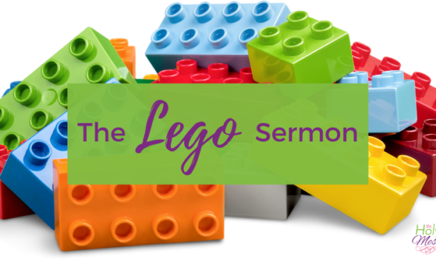 The Lego Sermon: Play Well Together
