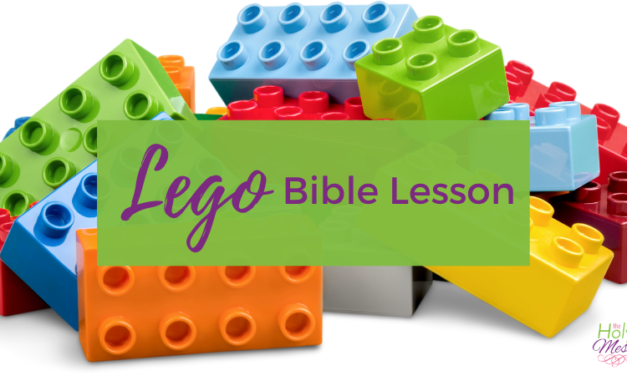 Lego Bible Lessons: Free Printable