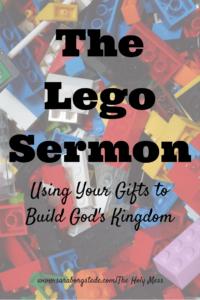 The Lego Sermon