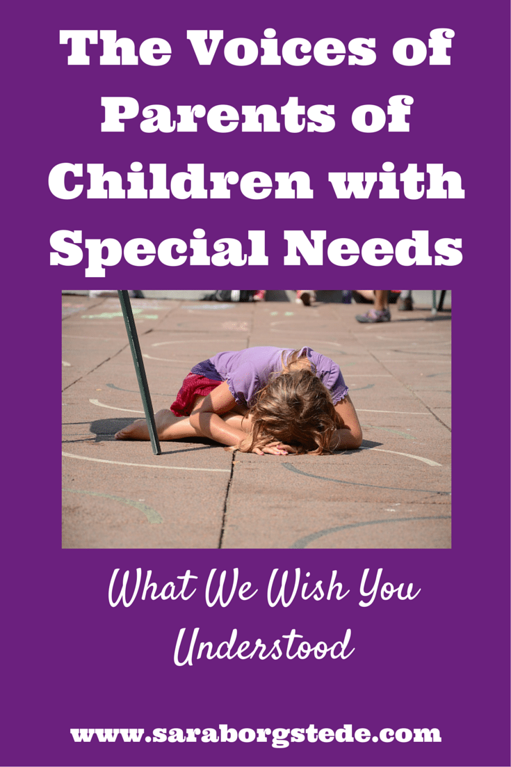 The Voices of Parents of Children with Special Needs
