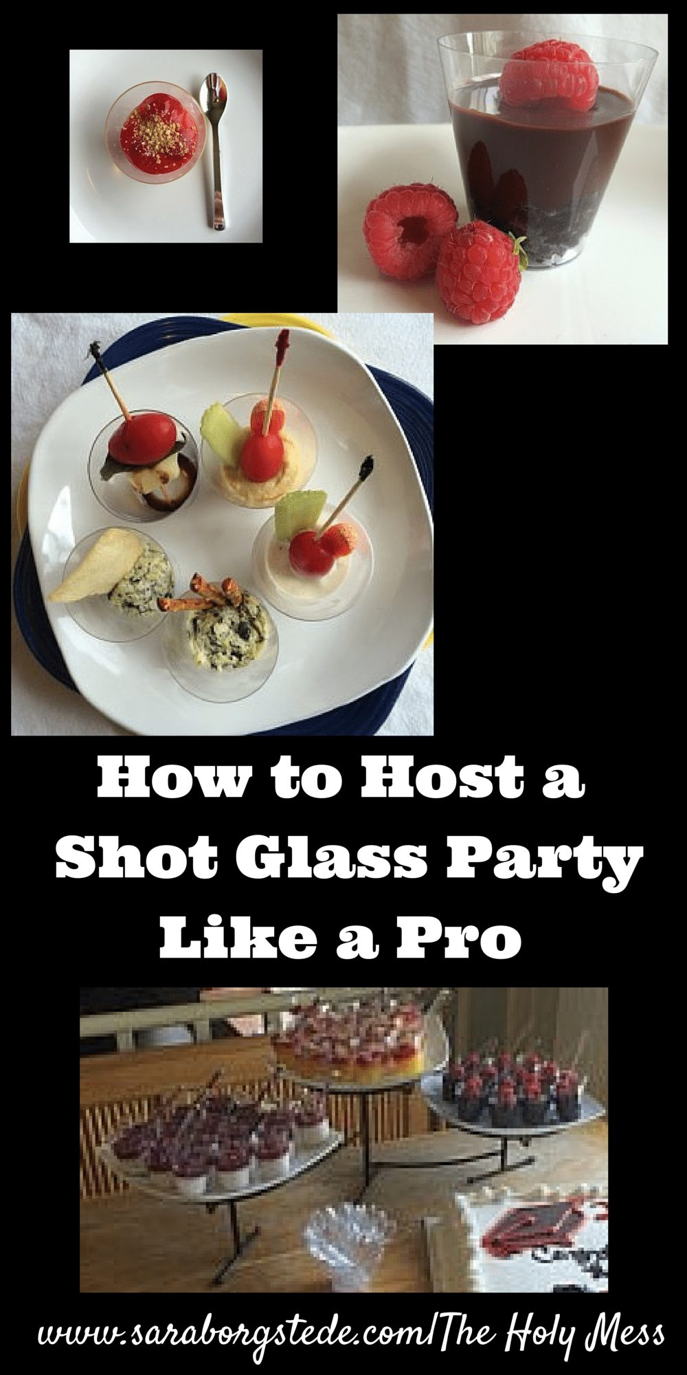 How to Host a Shot-Glass Mini-Servings Party Like a Pro - shot-glass mini-servings party