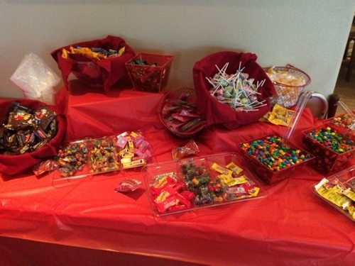The Candy Bar party idea