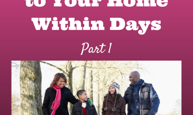 3 Parenting Strategies that Will Bring Peace to Your Home Within Days: Part 1