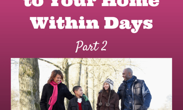 3 Parenting Strategies That Will Bring Peace to Your Home Within Days: Part 2