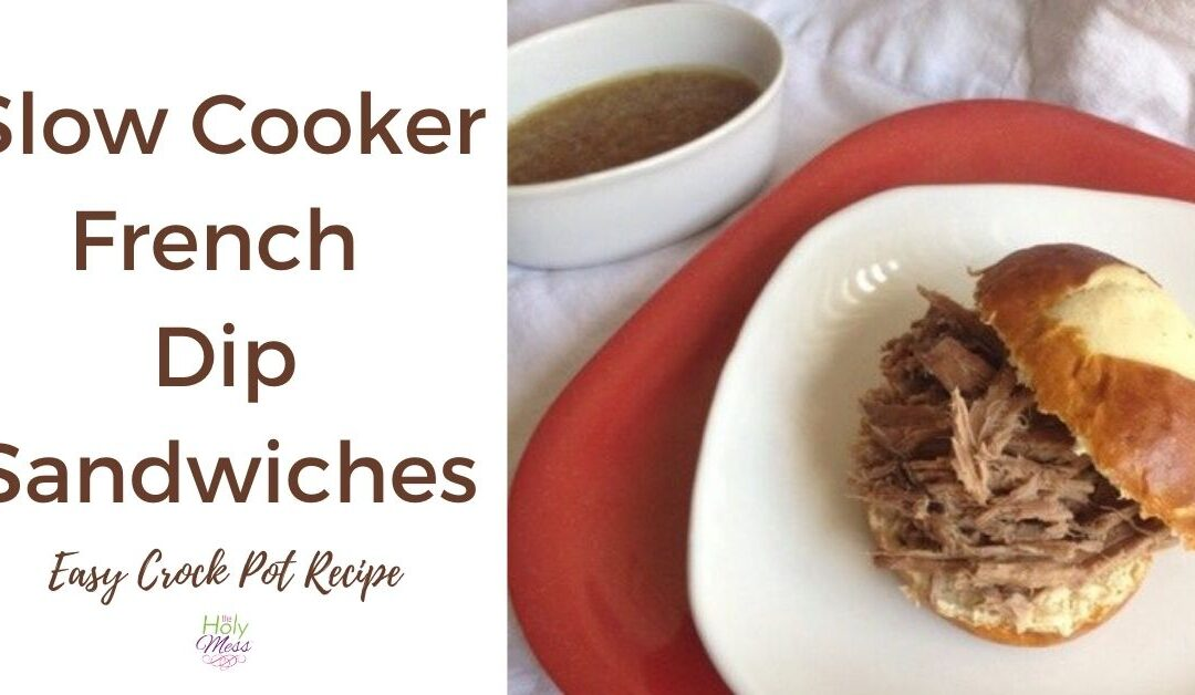 Healthy Crock Pot French Dip – Easy Slow Cooker Recipe