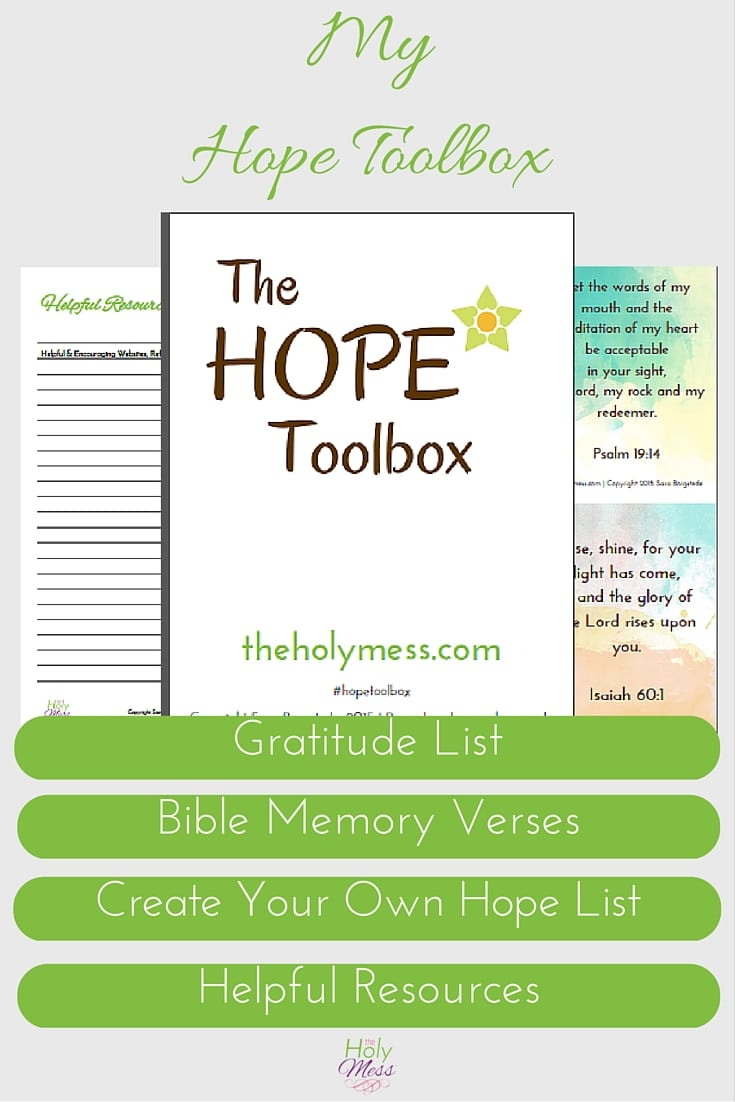 My Hope Toolbox