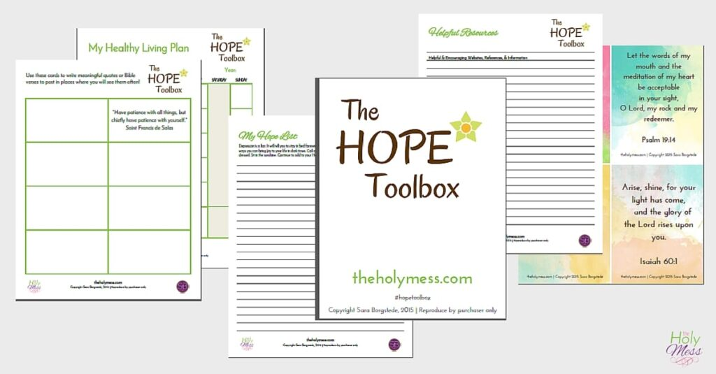 What's Included in Hope Toolbox
