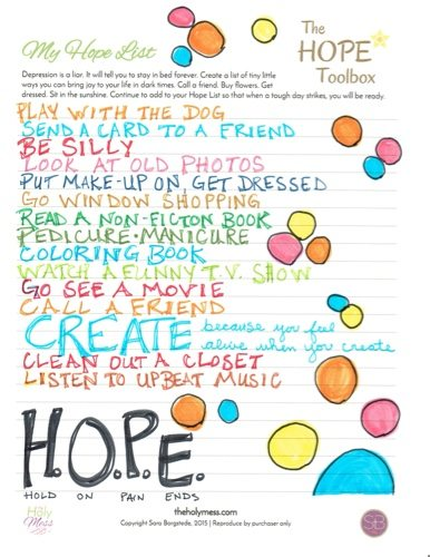 Hope List by April Best
