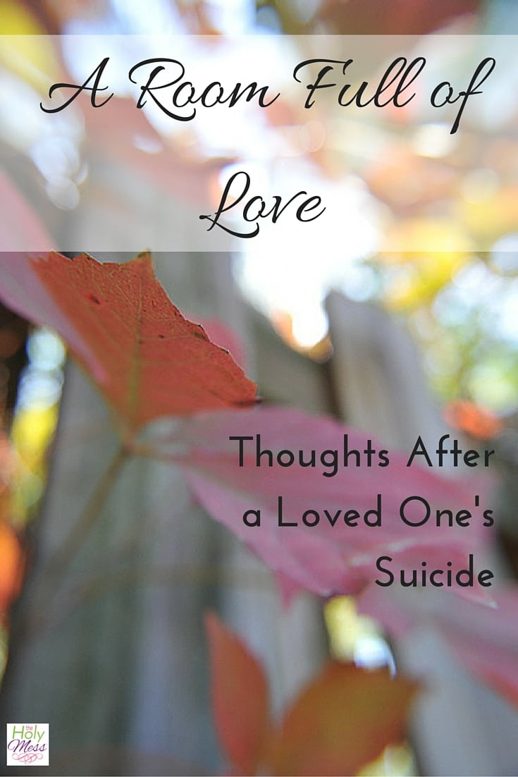 After a Loved One's Suicide: Finding Hope and Healing
