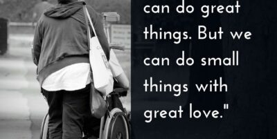 Not All of Us Can Do Great Things