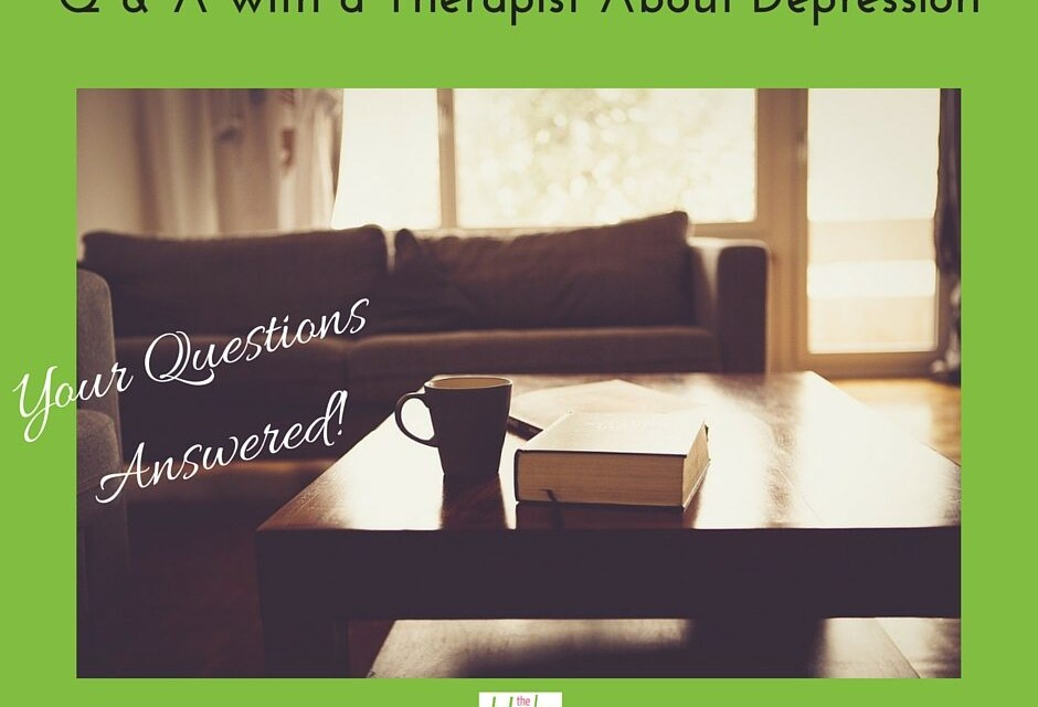 Q & A with a Therapist about Depression