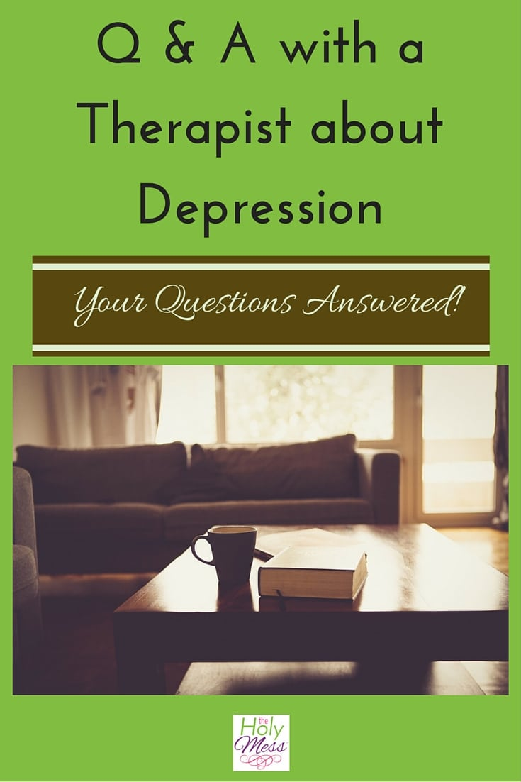 Q and A with a Therapist about Depression