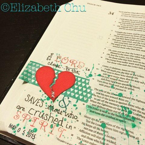 Journaling Bible Page