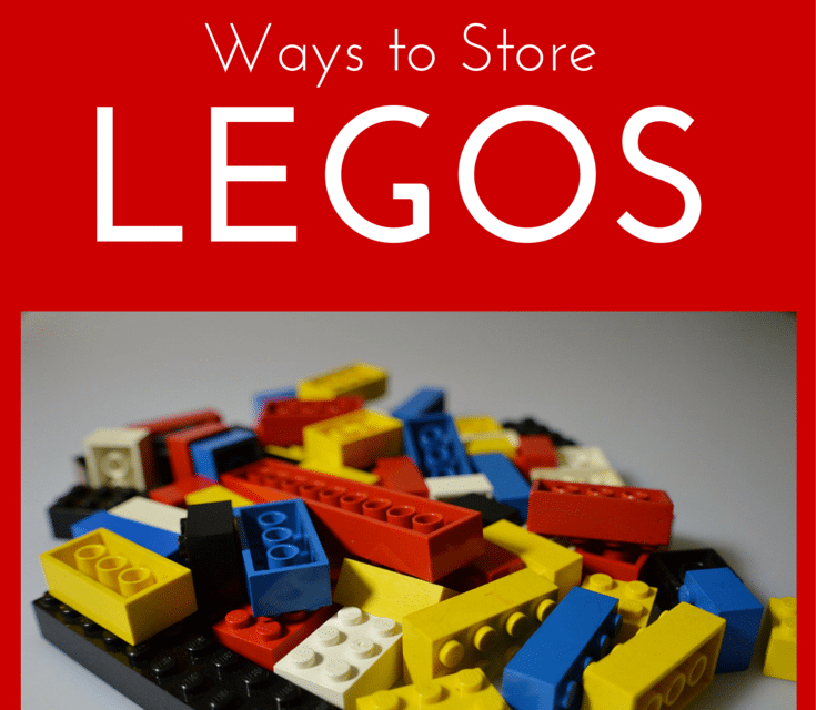 The Top 4 BEST Ways to Store Legos