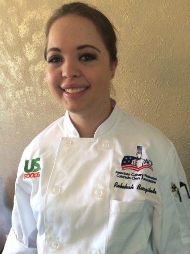 Bekah in Sous Chef Training
