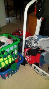 April laundry