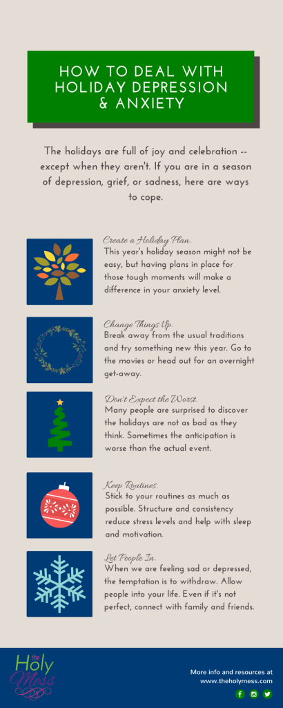 How to Deal with Holiday Depression & Anxiety