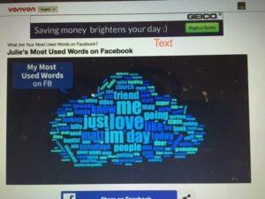 Facebook Word Game
