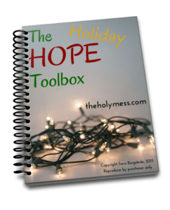 The Holiday Hope Toolbox